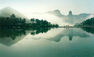 朱潭山景點