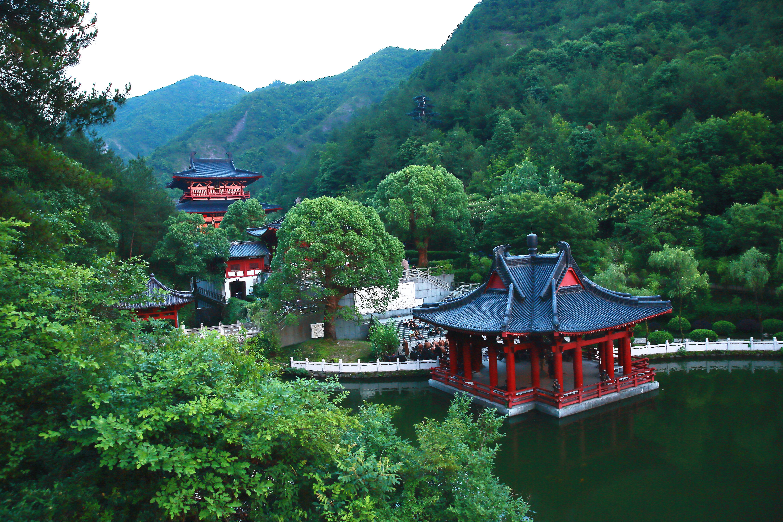 仙都観光地区